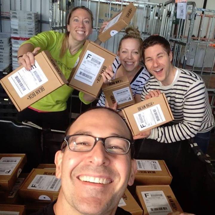 Bean Box - Our First Shipment