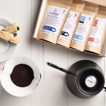Coffee sampler plan