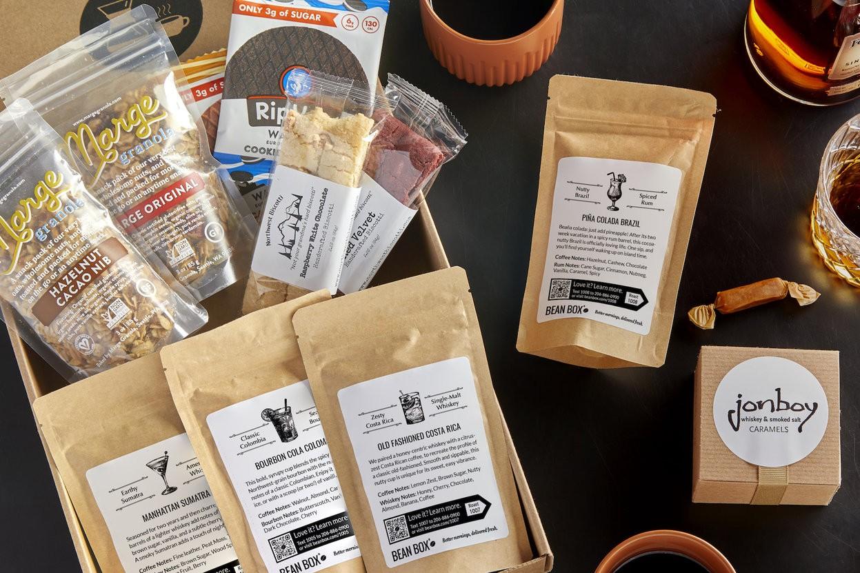 Barrel-Aged Coffee Gift Box