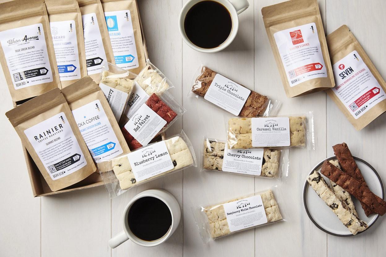 Deluxe Coffee + Biscotti Tasting Box