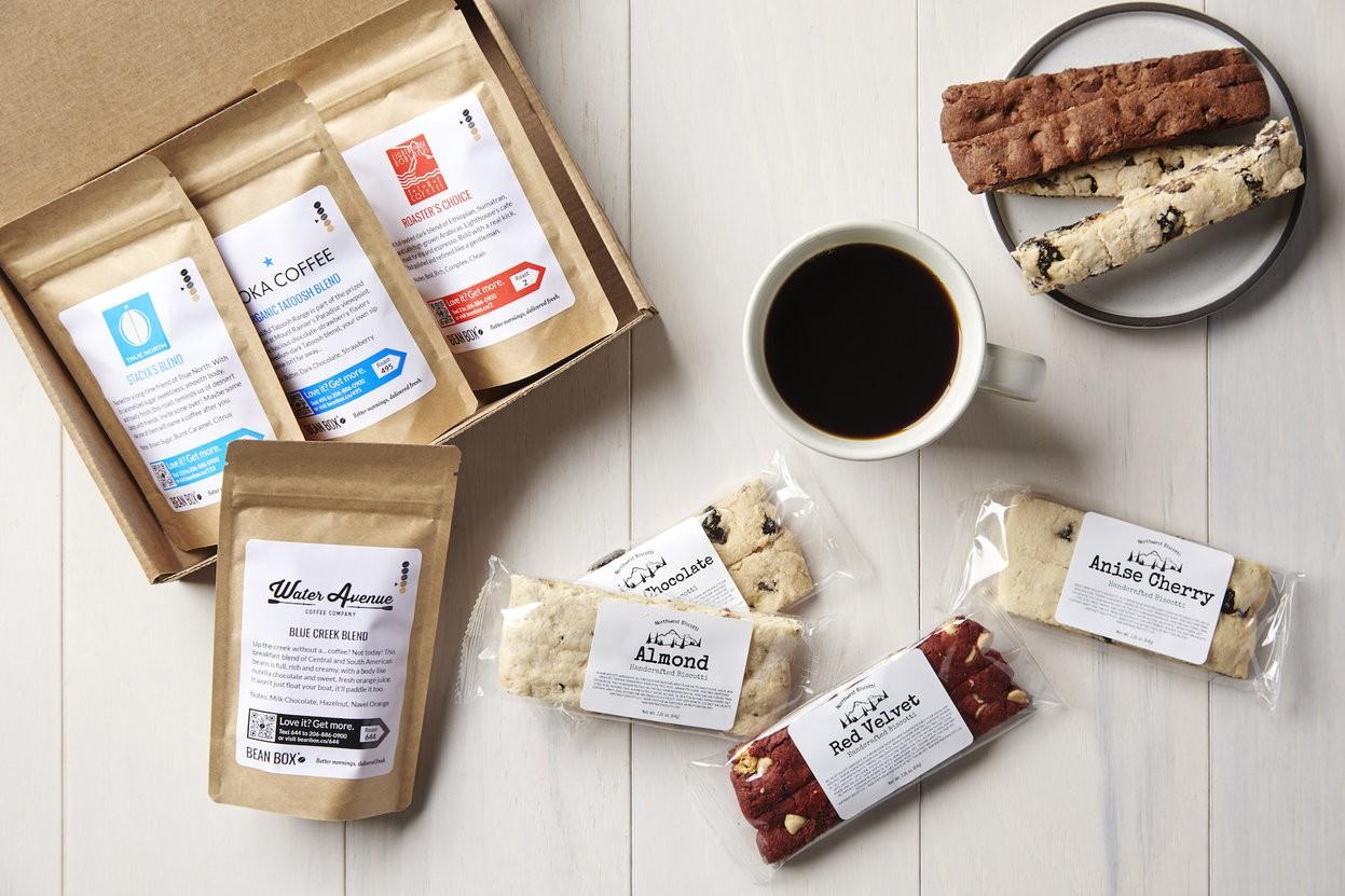 Coffee + Biscotti Tasting Box