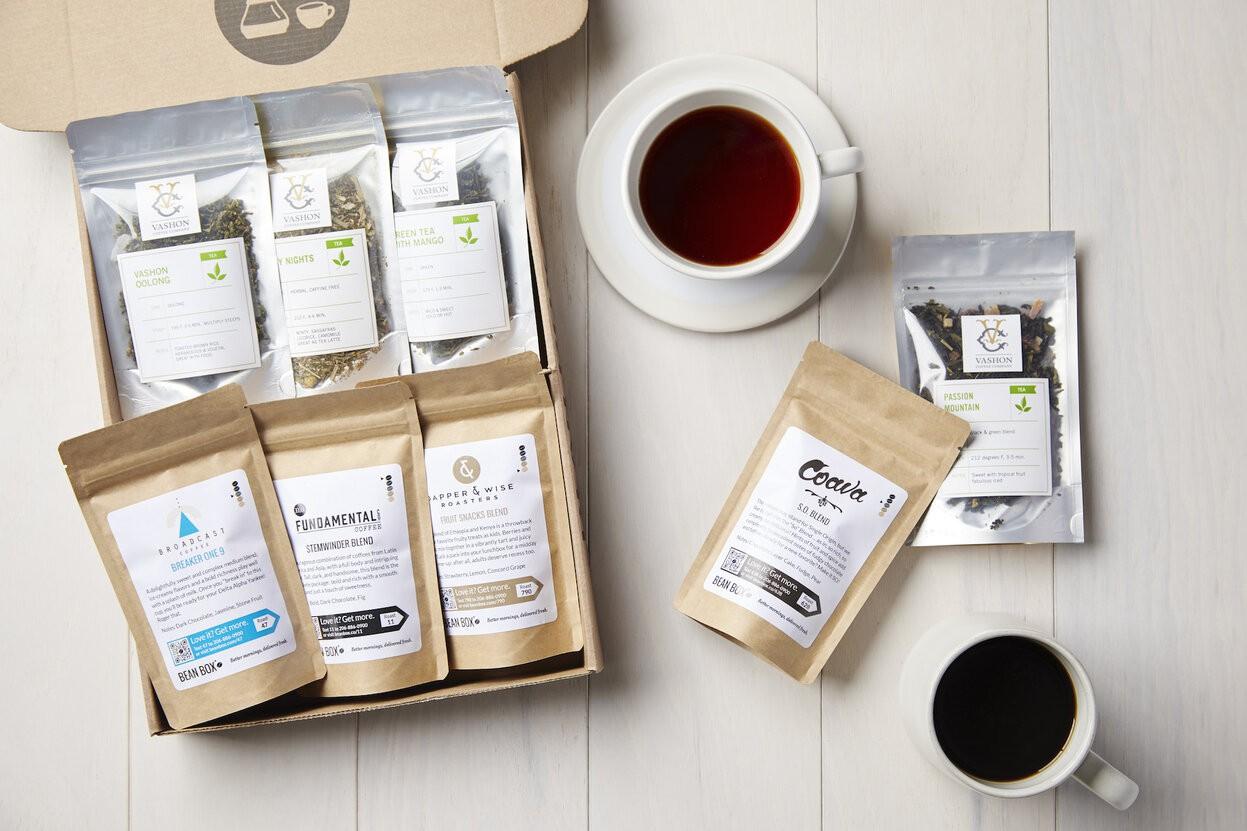 Bean Box Coffee and Tea Box