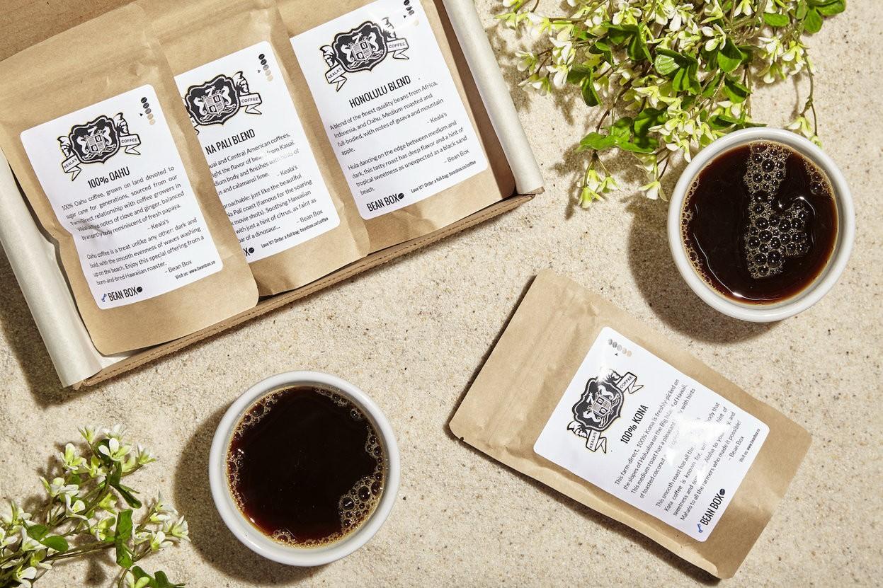 Hawaiian Coffee Sampler