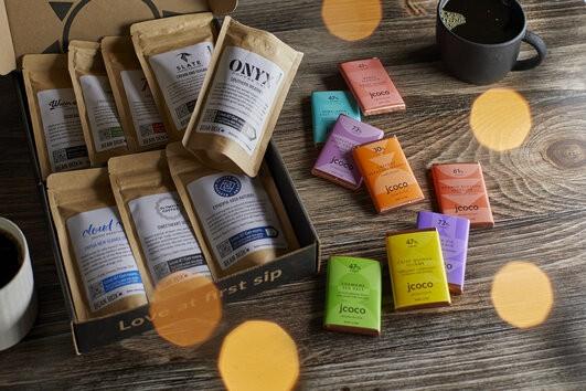 Deluxe Coffee + Chocolate Tasting Box™