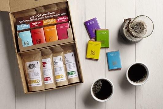 Deluxe Coffee & Chocolate Tasting Box