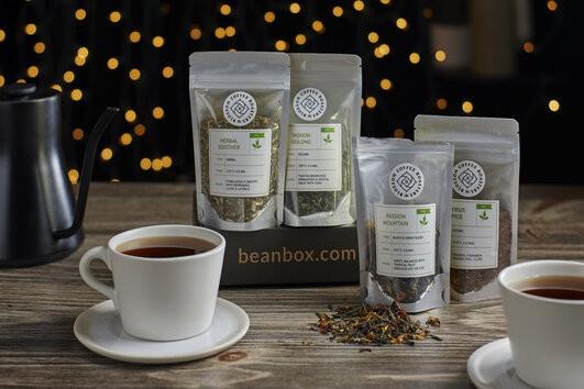 Bean Box Tea Tasting Box