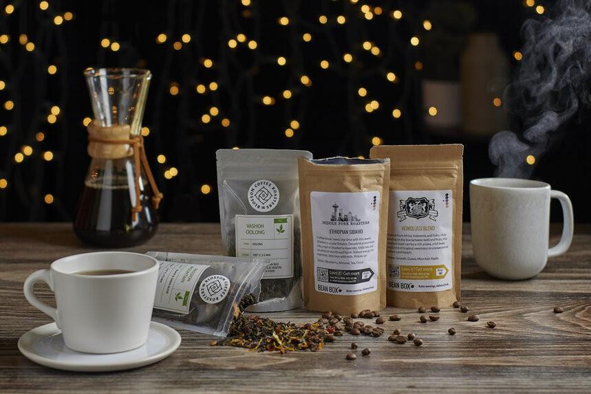 Bean Box Coffee + Tea Tasting Box - image 0