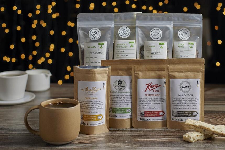 Deluxe Coffee + Tea Gift Box - image 0