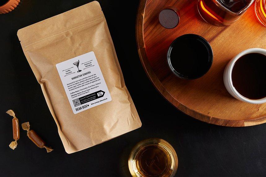 Whiskey Barrel Aged Sumatra by Bean Box - image 0