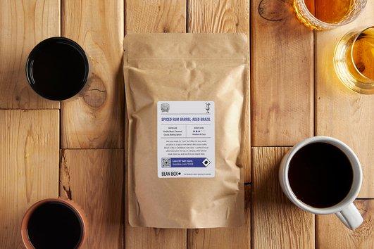 Spiced Rum BarrelAged Brazil by Bean Box