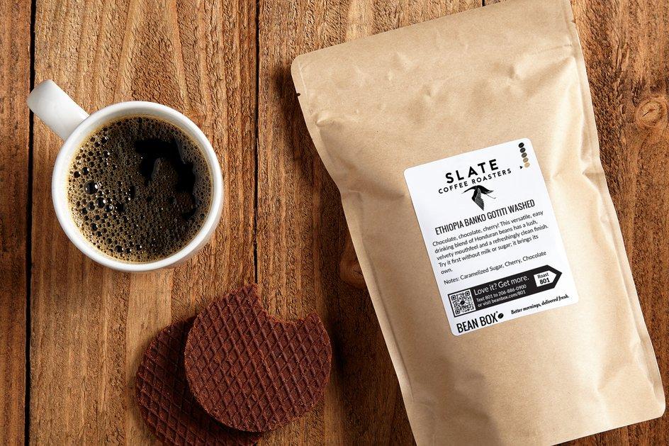 Ethiopia Banko Gotiti Washed by Slate Coffee Roasters