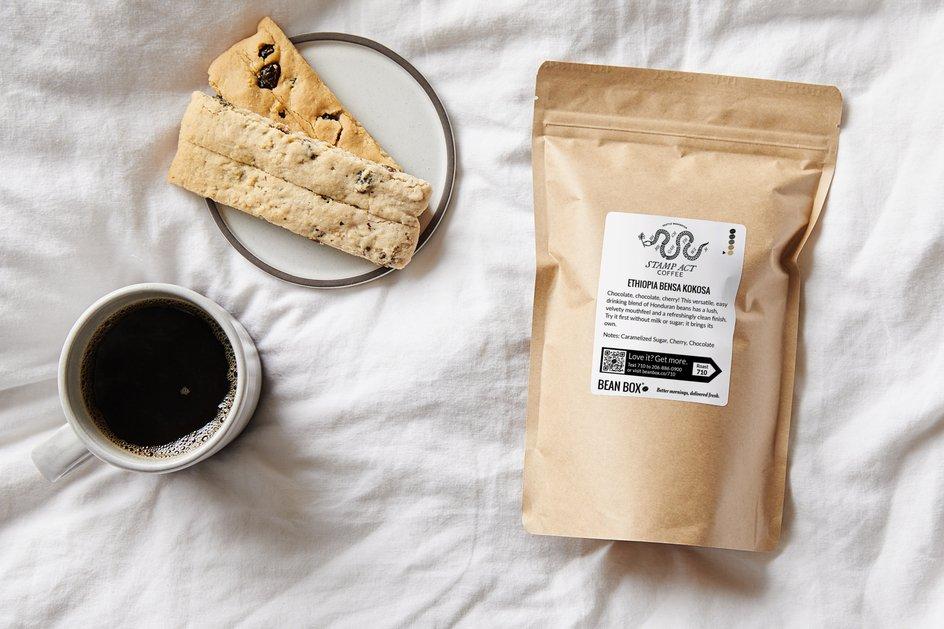Ethiopia Bensa Kokosa by Stamp Act Coffee