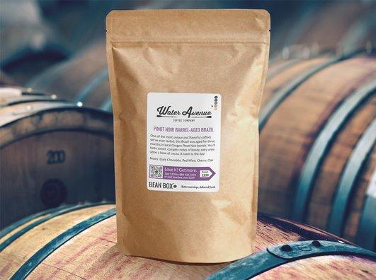 Pinot Noir BarrelAged Brazil by Water Avenue Coffee Company