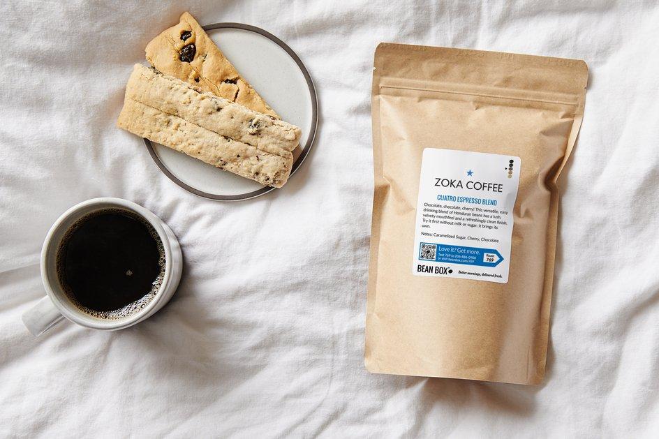 Cuatro Espresso Blend by Zoka Coffee