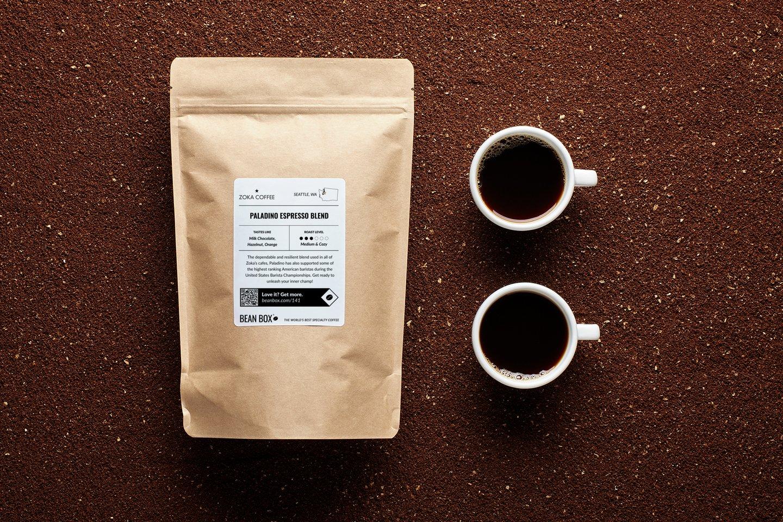 Paladino Espresso Blend by Zoka Coffee
