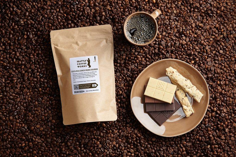 Costa Rica Leoncio Orange Bourbon by Seattle Coffee Works