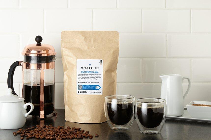 Decaf Espresso Paladino by Zoka Coffee - image 0
