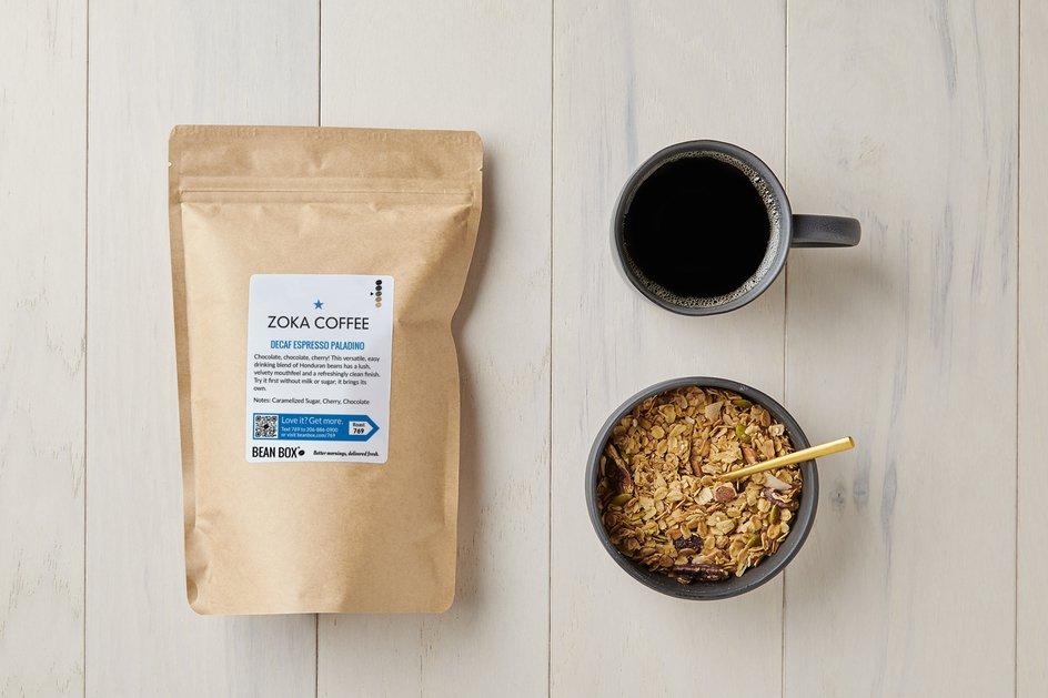 Decaf Espresso Paladino by Zoka Coffee