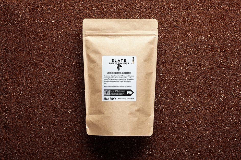 Under Pressure Espresso by Slate Coffee Roasters