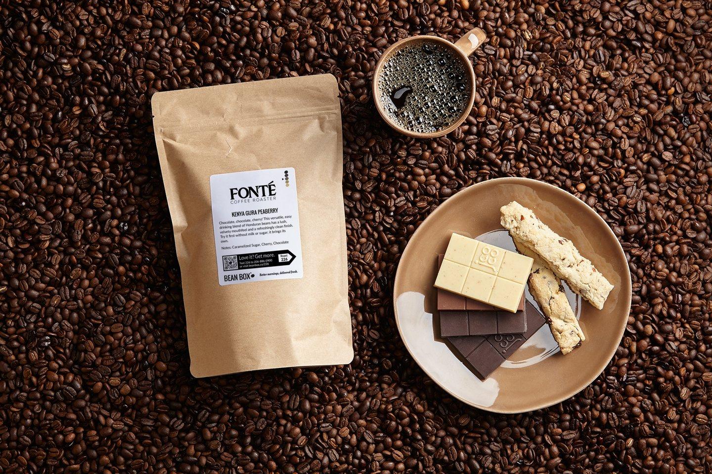 Kenya Gura Peaberry by Fonte Coffee