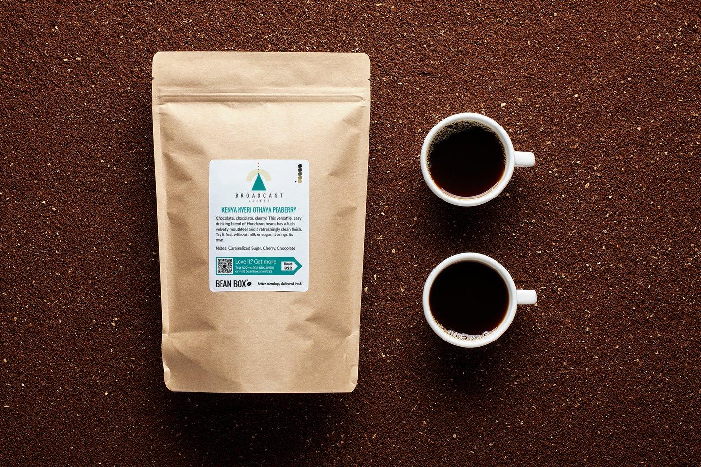 Kenya Nyeri Othaya Peaberry by Broadcast Coffee Roasters
