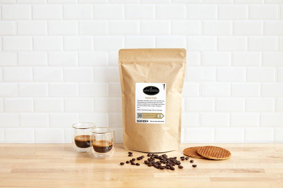 Rainier Rising by Vashon Island Coffee Roasterie
