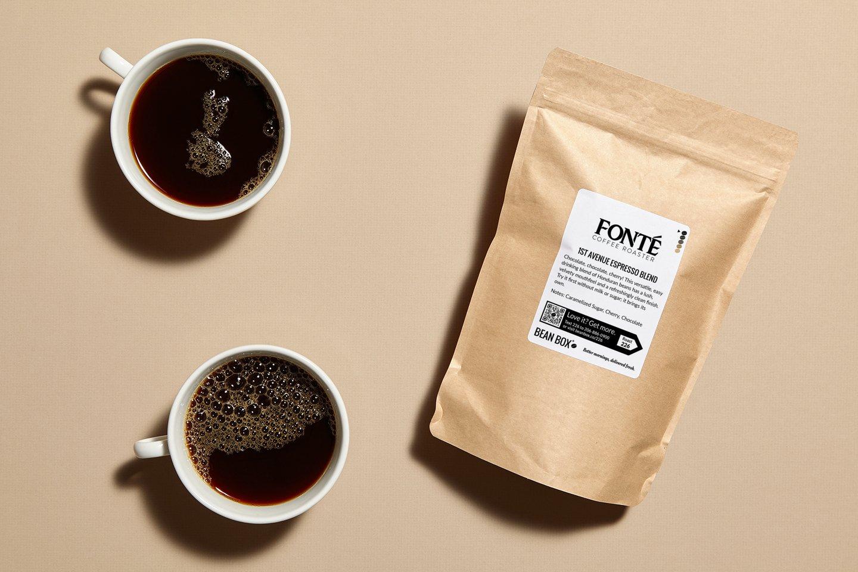 1st Avenue Espresso Blend by Fonte Coffee