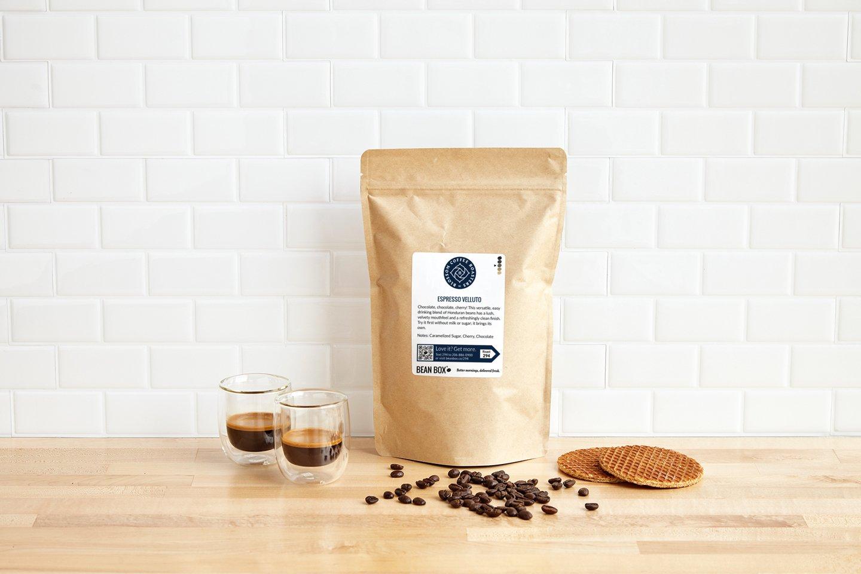 Espresso Velluto by Vashon Coffee Company