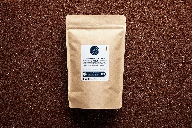 Ethiopia Yirgacheffe Banko Dhadhato by Vashon Coffee Company