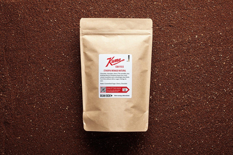 Ethiopia Wenago Natural by Kuma Coffee