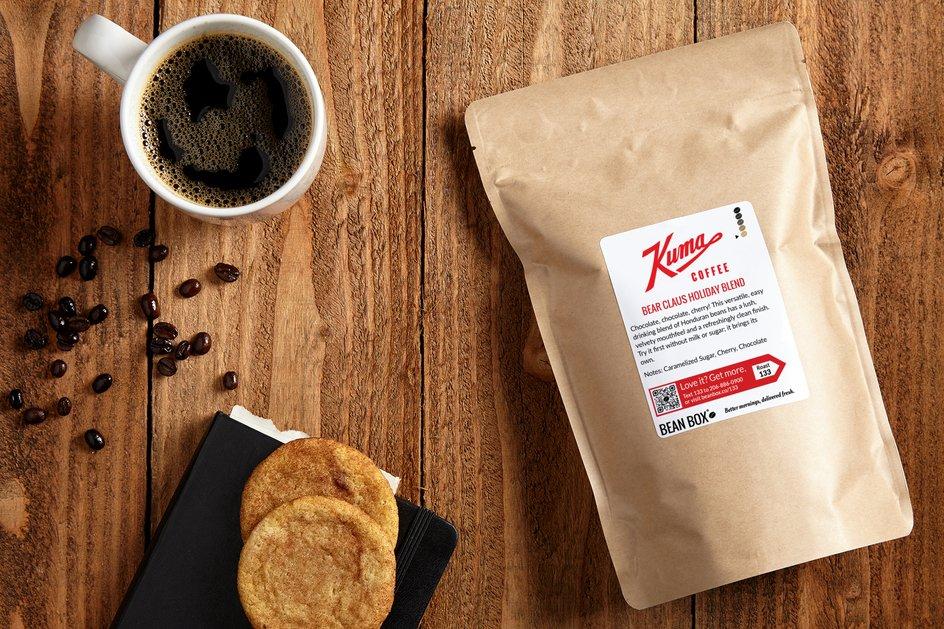 Bear Claus Holiday Blend by Kuma Coffee