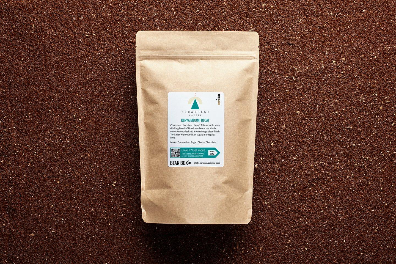 Kenya Mbumi Decaf by Broadcast Coffee Roasters