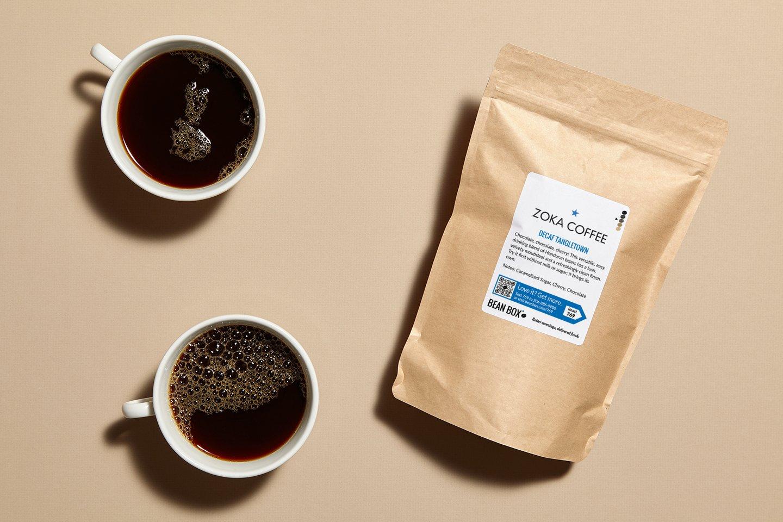 Decaf Tangletown by Zoka Coffee