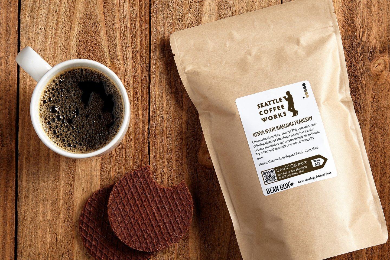 Kenya Nyeri Kiamaina Peaberry by Seattle Coffee Works