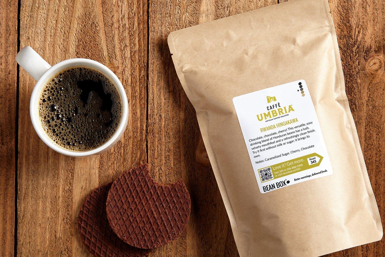 Rwanda Hingakawa by Caffe Umbria