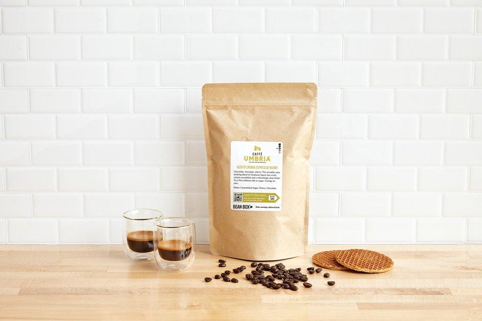 Gusto Crema Espresso Blend by Caffe Umbria