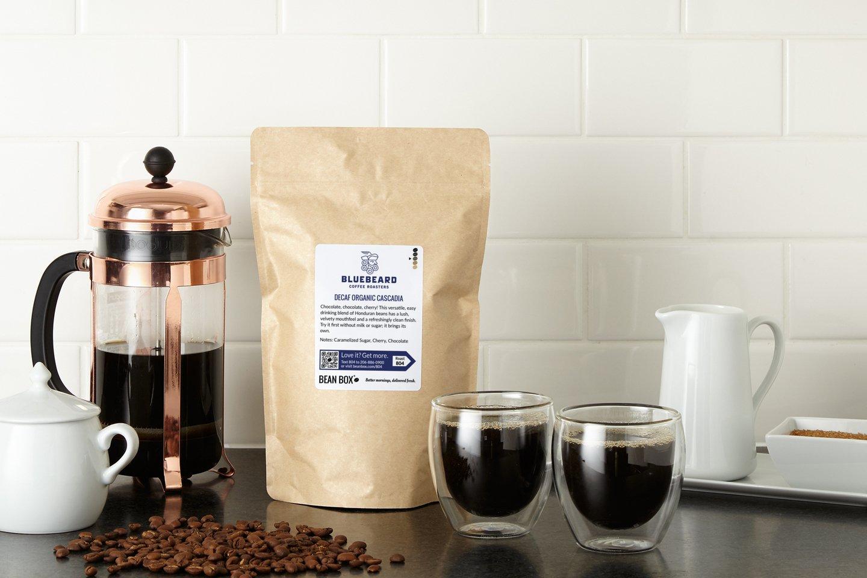 Decaf Organic Cascadia by Bluebeard Coffee Roasters