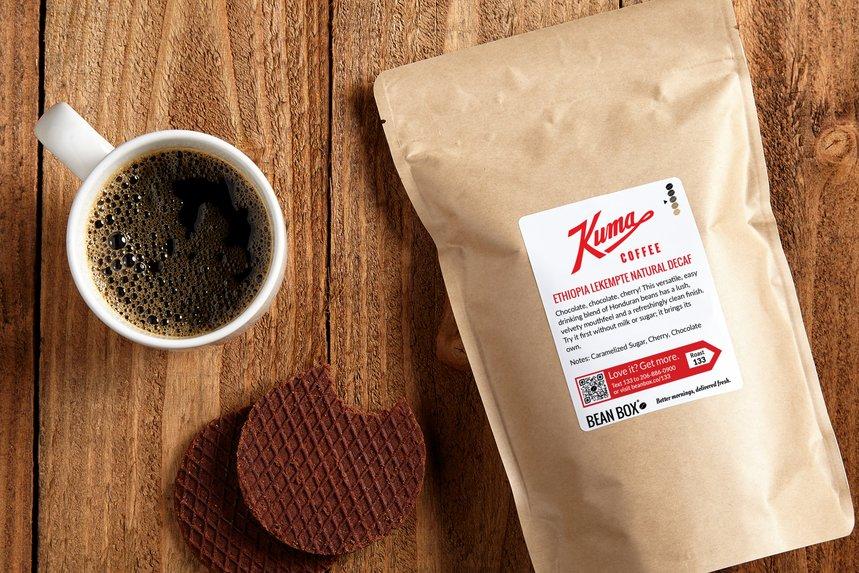 Ethiopia Lekempte Natural Decaf by Kuma Coffee - image 0