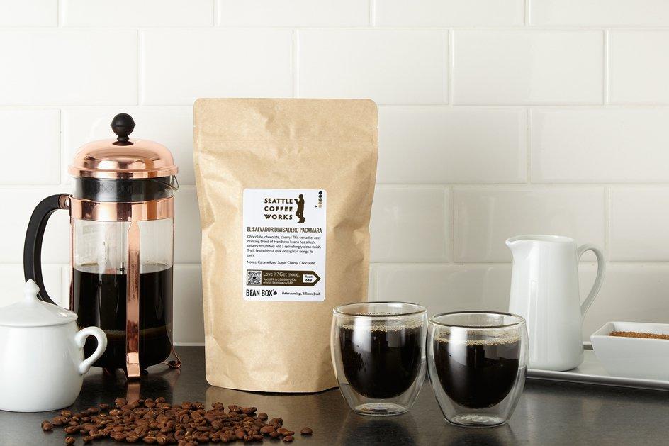 El Salvador Divisadero Pacamara by Seattle Coffee Works