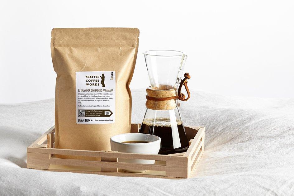 El Salvador Divisadero Pacamara by Seattle Coffee Works - image 0