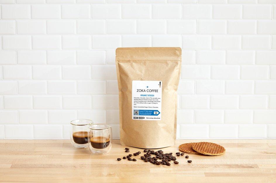 Organic Tatoosh by Zoka Coffee