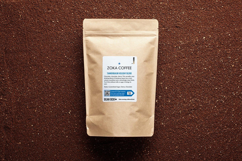 Tannenbaum Holiday Blend by Zoka Coffee