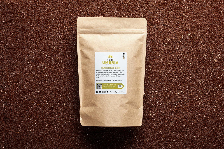 Leone Espresso Blend by Caffe Umbria