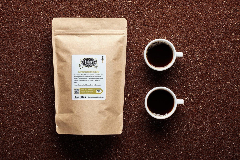 Hapuna Espresso Blend by Kealas Hawaiian Coffee