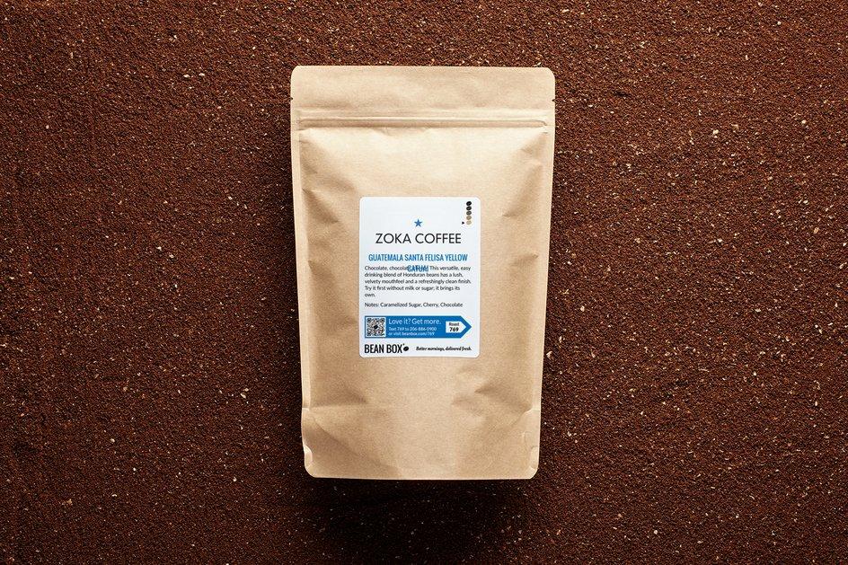 Guatemala Santa Felisa Yellow Catuai by Zoka Coffee