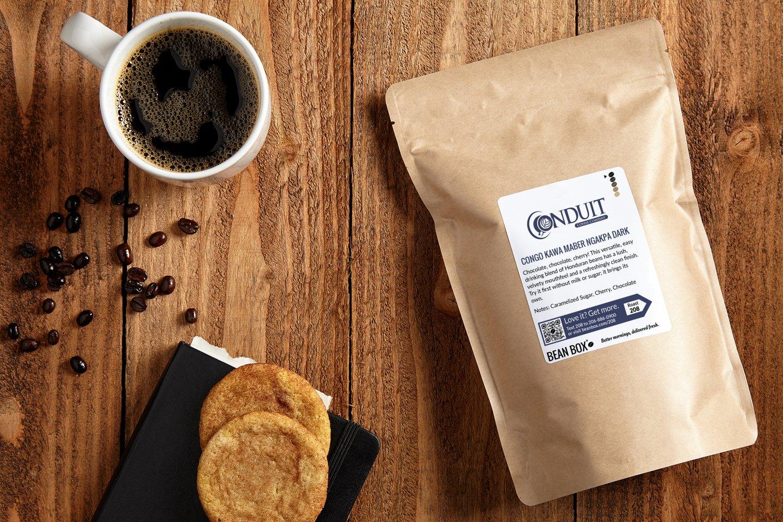 Congo Kawa Maber Ngakpa Dark by Conduit Coffee Company