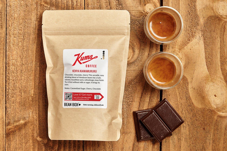 Kenya Kiawamururu by Kuma Coffee