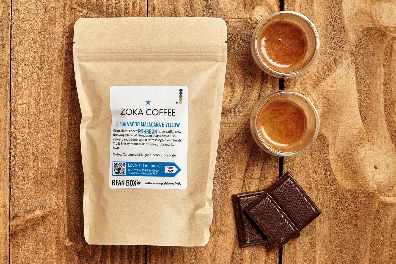 El Salvador Malacara B Yellow Bourbon by Zoka Coffee