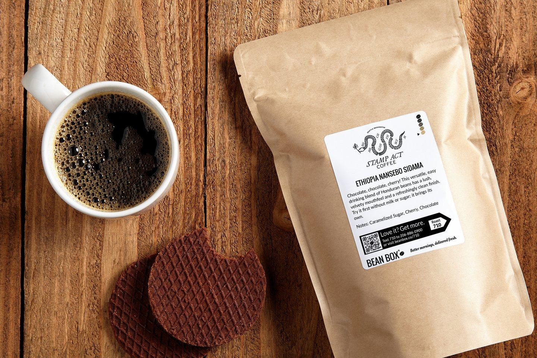 Ethiopia Nansebo Sidama by Stamp Act Coffee