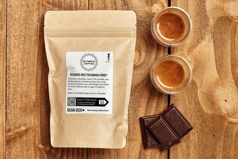 Ricardo Ariz Pacamara Honey by Olympia Coffee - image 0